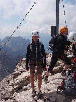 Klettersteig 2012 / Lienzer Dolomiten_379