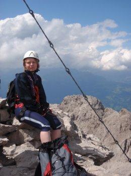 Klettersteig 2012 / Lienzer Dolomiten_380