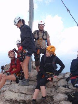 Klettersteig 2012 / Lienzer Dolomiten_384