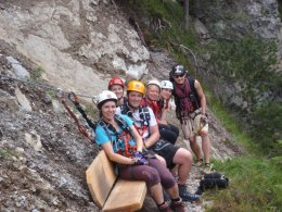 Klettersteig 2012 / Lienzer Dolomiten_435