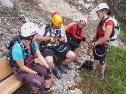 Klettersteig 2012 / Lienzer Dolomiten_440