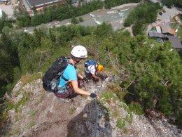 Klettersteig 2012 / Lienzer Dolomiten_442