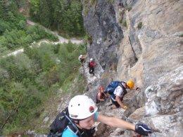 Klettersteig 2012 / Lienzer Dolomiten_444