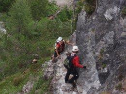 Klettersteig 2012 / Lienzer Dolomiten_445