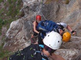 Klettersteig 2012 / Lienzer Dolomiten_446