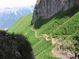 Klettersteig / Rakousko Štýrsko - Hochschwab-Gruppe_46