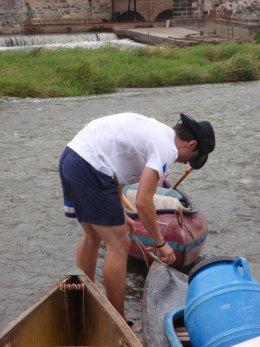 Sjíždění řeky Berounky_461