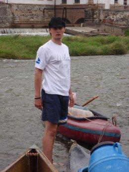 Sjíždění řeky Berounky_462