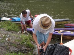 Sjíždění řeky Berounky_473