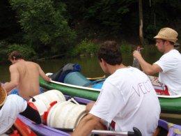 Sjíždění řeky Berounky_478