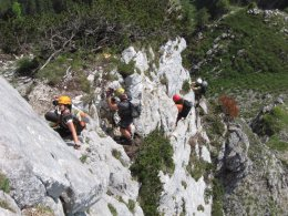 Klettersteig / Rakousko Štýrsko - Hochschwab-Gruppe_48