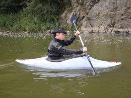 Sjíždění řeky Berounky_489