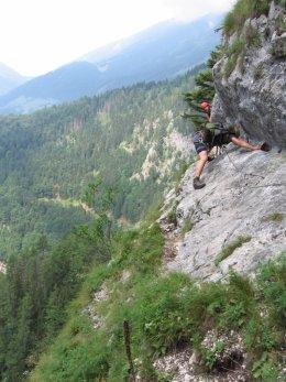 Klettersteig / Rakousko Štýrsko - Hochschwab-Gruppe_49