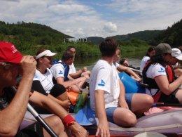 Sjíždění řeky Berounky_491