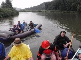 Sjíždění řeky Berounky_495