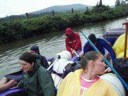 Sjíždění řeky Berounky_496