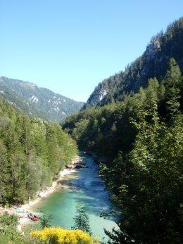 Sjíždění divoké řeky Salzy_574