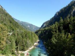 Sjíždění divoké řeky Salzy_575
