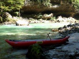 Sjíždění divoké řeky Salzy_592