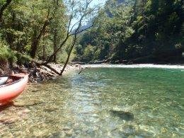 Sjíždění divoké řeky Salzy_596