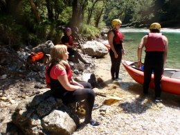 Sjíždění divoké řeky Salzy_601