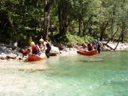 Sjíždění divoké řeky Salzy_602