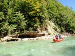 Sjíždění divoké řeky Salzy_604