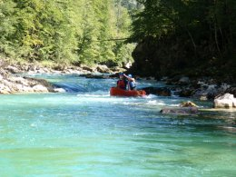 Sjíždění divoké řeky Salzy_606