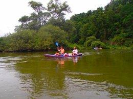 Sjíždění řeky Berounky_628