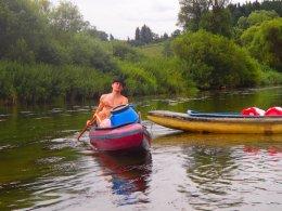 Sjíždění řeky Berounky_636