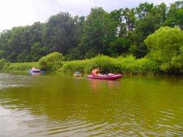 Sjíždění řeky Berounky_653