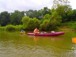 Sjíždění řeky Berounky_655