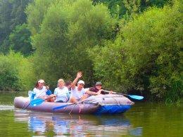 Sjíždění řeky Berounky_657