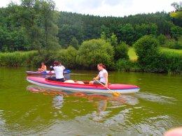 Sjíždění řeky Berounky_658