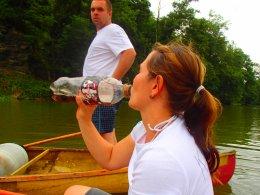 Sjíždění řeky Berounky_659