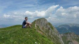 Klettersteig / Rakousko Štýrsko - Hochschwab-Gruppe_67
