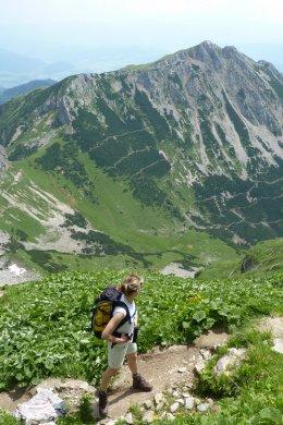 Klettersteig / Rakousko Štýrsko - Hochschwab-Gruppe_69