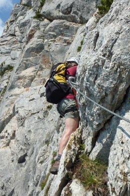 Klettersteig / Rakousko Štýrsko - Hochschwab-Gruppe_81