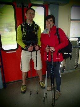 Nordic Walking II. Po valašských kopcoch._876