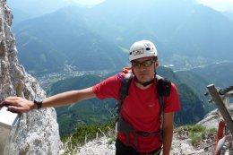 Klettersteig / Rakousko Štýrsko - Hochschwab-Gruppe_88