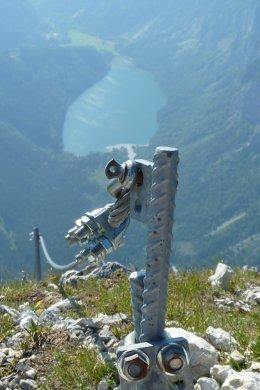 Klettersteig / Rakousko Štýrsko - Hochschwab-Gruppe_89