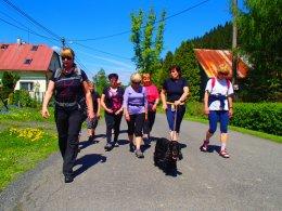 Nordic Walking II. Po valašských kopcoch._916