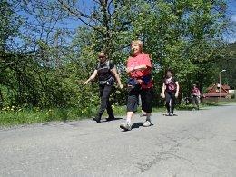 Nordic Walking II. Po valašských kopcoch._918