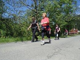 Nordic Walking II. Po valašských kopcoch._919