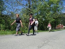 Nordic Walking II. Po valašských kopcoch._923