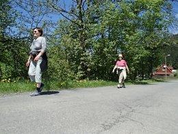 Nordic Walking II. Po valašských kopcoch._926