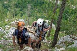 Klettersteig / Rakousko Štýrsko - Hochschwab-Gruppe_94