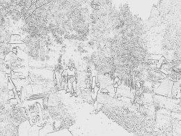 Nordic Walking II. Po valašských kopcoch._958