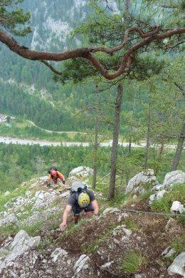 Klettersteig / Rakousko Štýrsko - Hochschwab-Gruppe_98