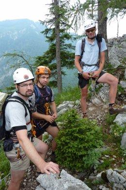 Klettersteig / Rakousko Štýrsko - Hochschwab-Gruppe_99